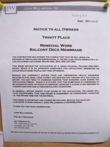 John Williamson Inc., notice 4, 2011-11-17